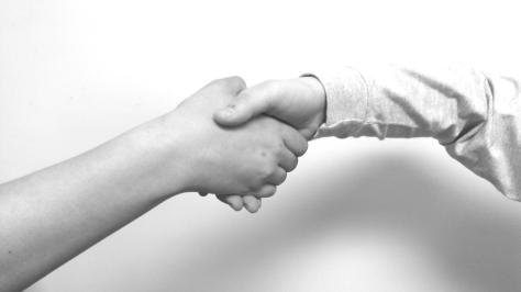 Hello YOU handshake
