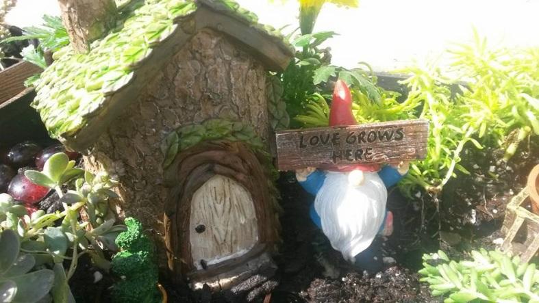 fairy garden love