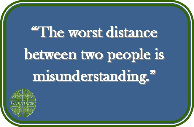 Misunderstanding the Distance