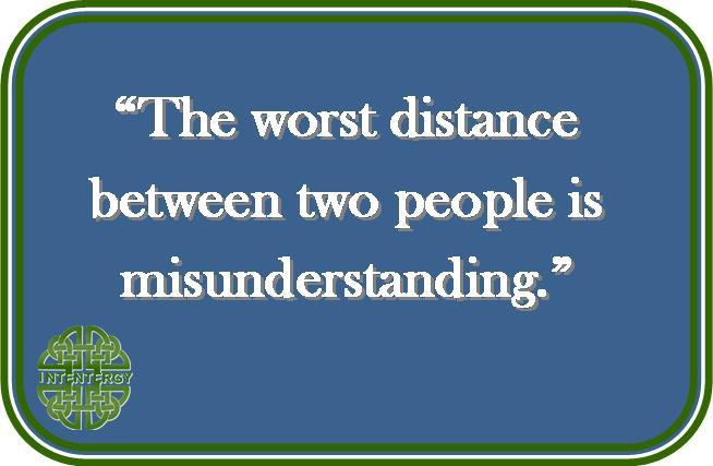 Misunderstanding the Distance