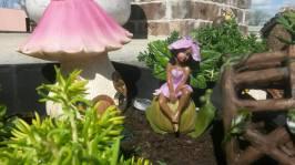 fairy garden girl