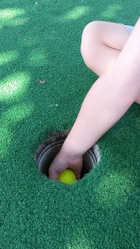 Hand in Hole Golf