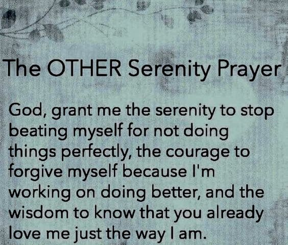 photograph about Printable Serenity Prayer known as The OTHER Serenity Prayer Intentergy