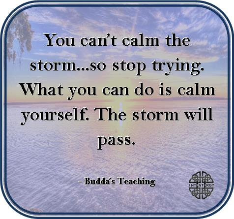 You Cant Calm the Storm