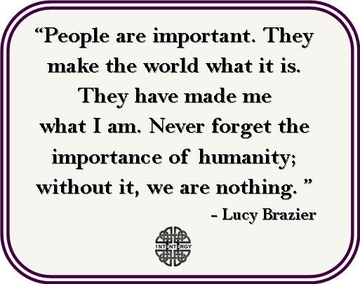 Lucy Brazier words