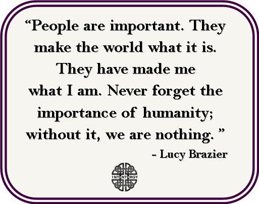 Lucy Brazier words