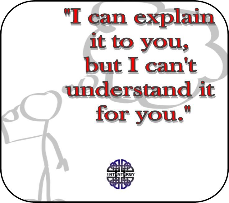 I can explain it