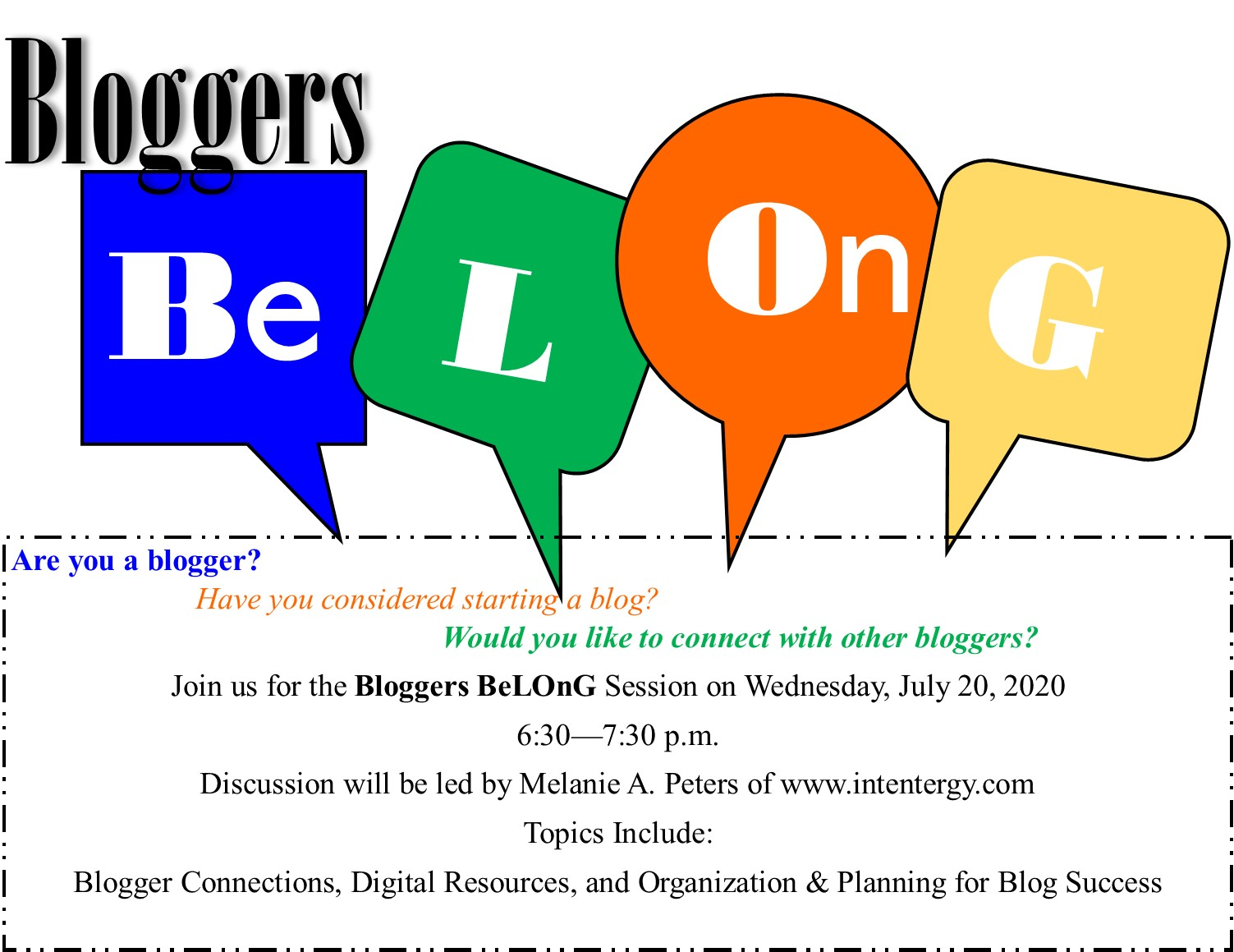 Blogger BeLOnG image